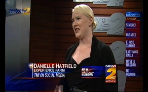 Danielle Hatield's interview with Lauren Melvin of WFMY News 2