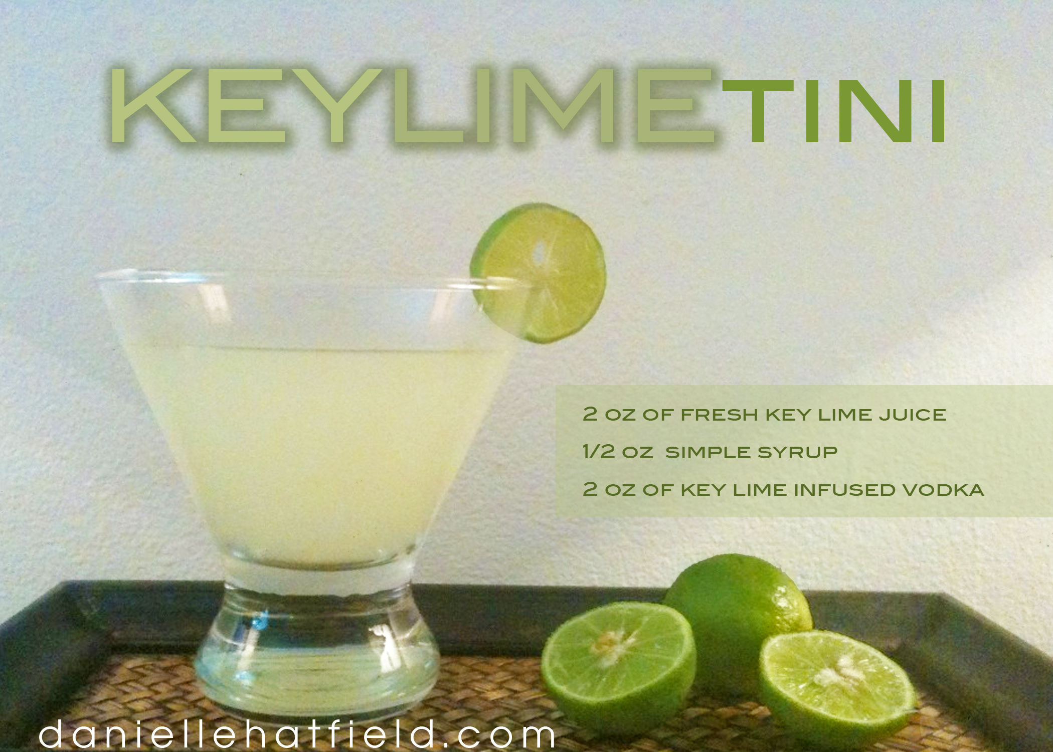 Recipe : Key Limetini