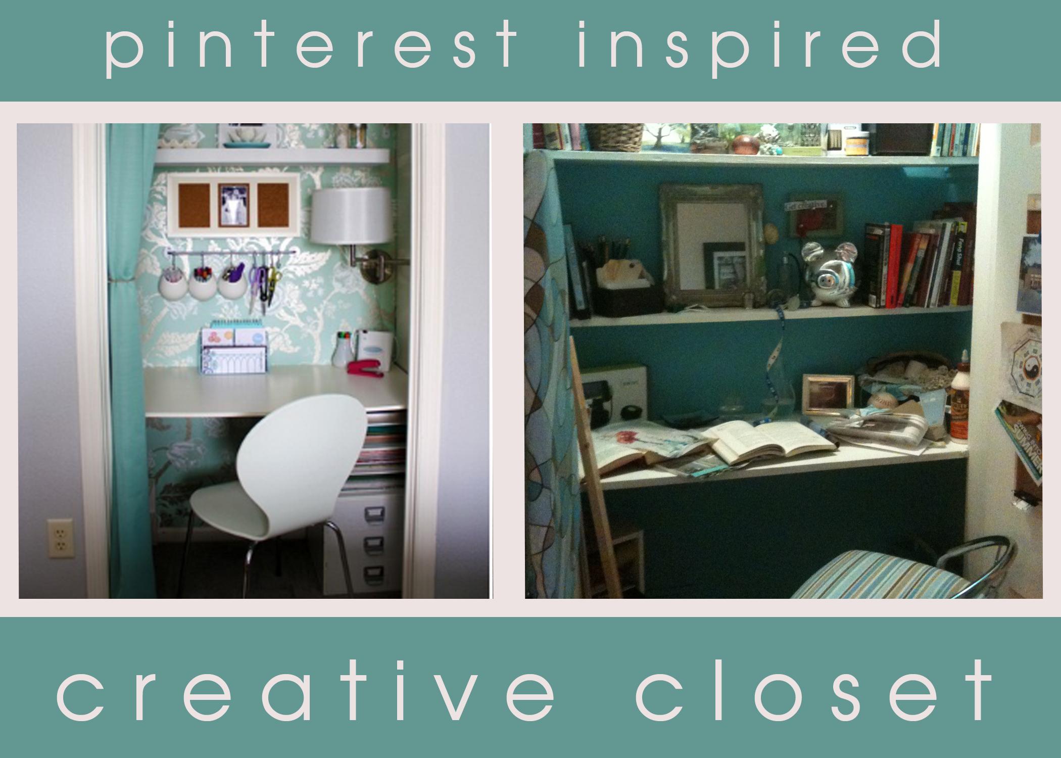 DIY: Pinterest Inspired Creative Closet