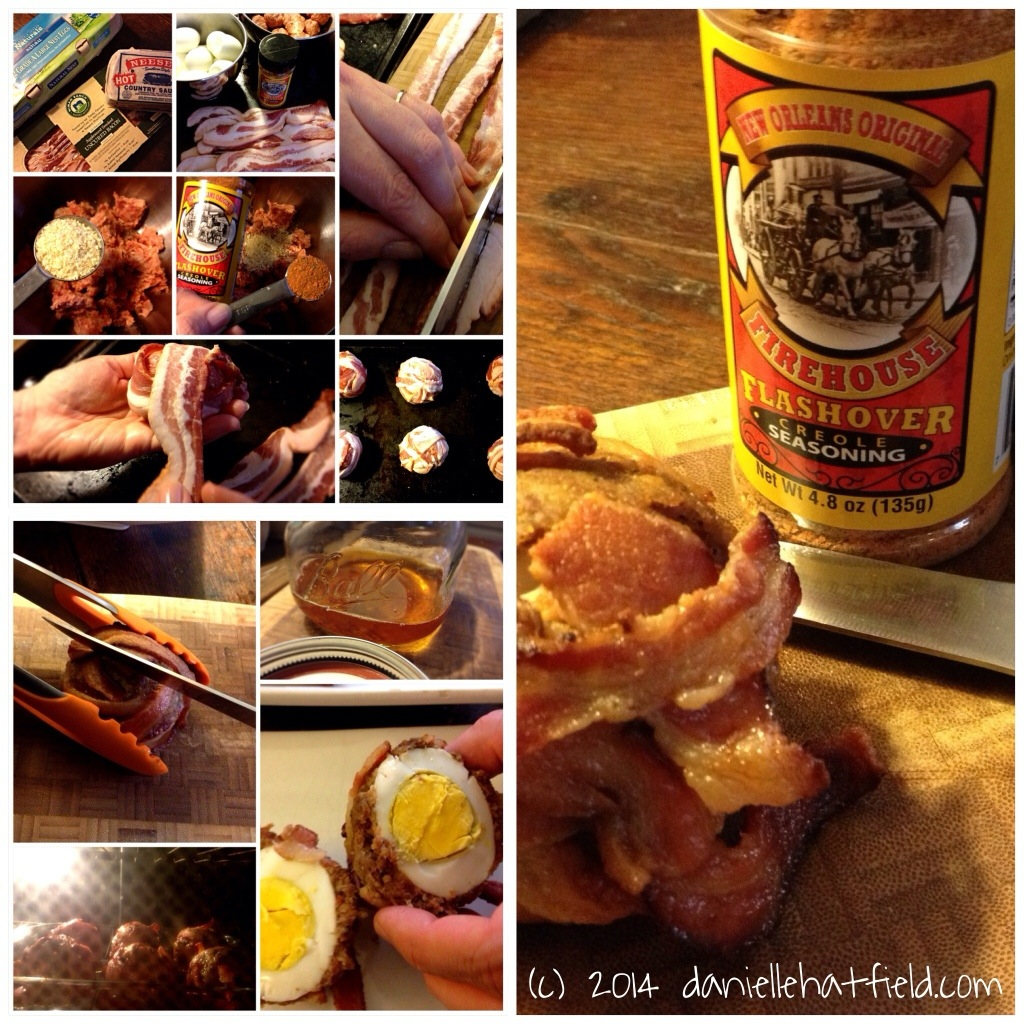 Recipe: Bacon Wrapped Flashover Scotch Eggs