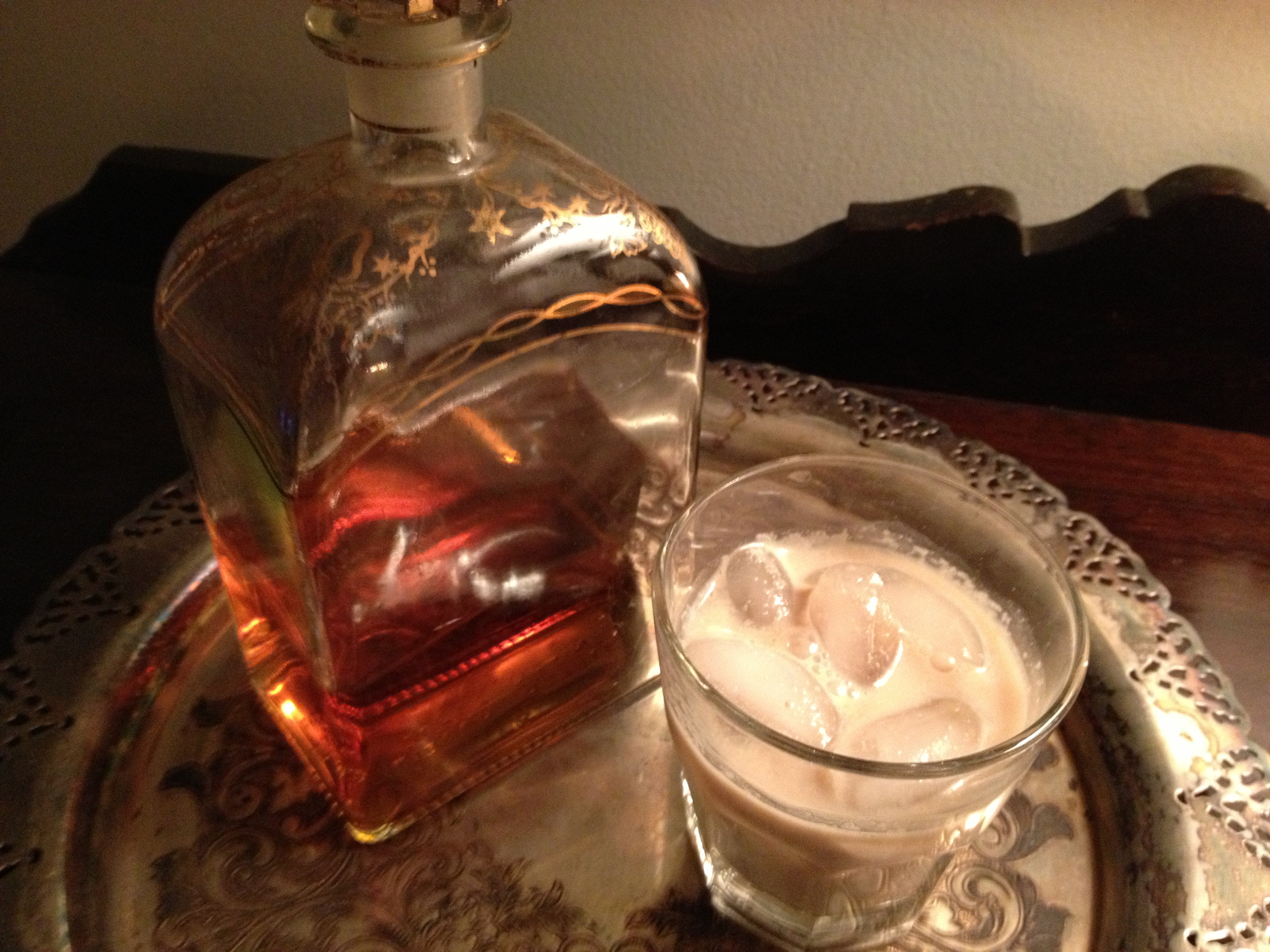 Recipe : Butterscotch Bourbon with Cream Cocktail