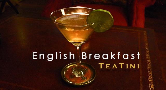 English Breakfast TeaTini Recipe by Danielle Hatfield