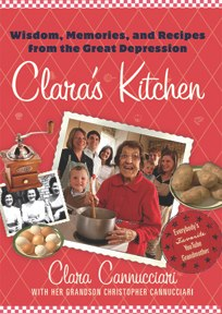 You can order her book - Clara's Kitchen: Wisdom, Memories and Recipes from the Great Depression