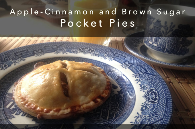 apple-cinnamon and brown sugar pocket pies