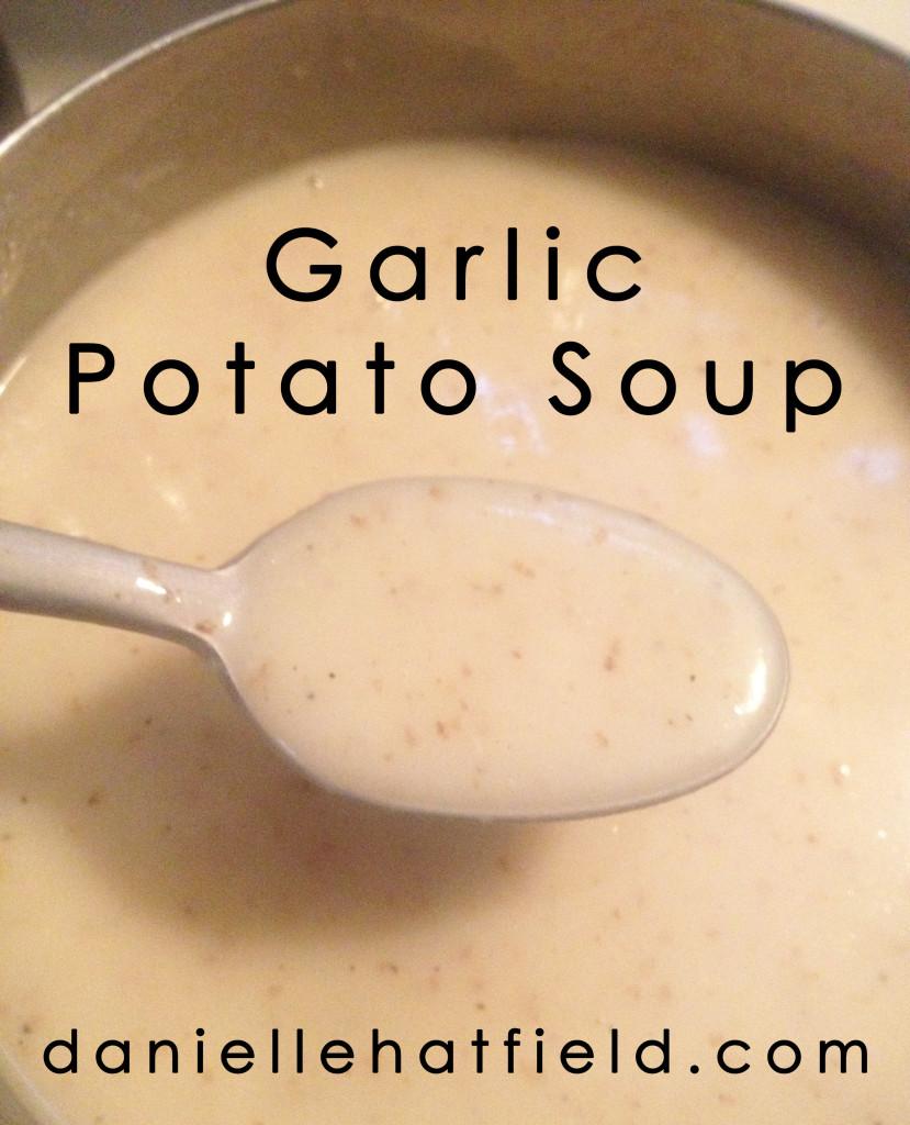Garlic Potato Soup Recipe